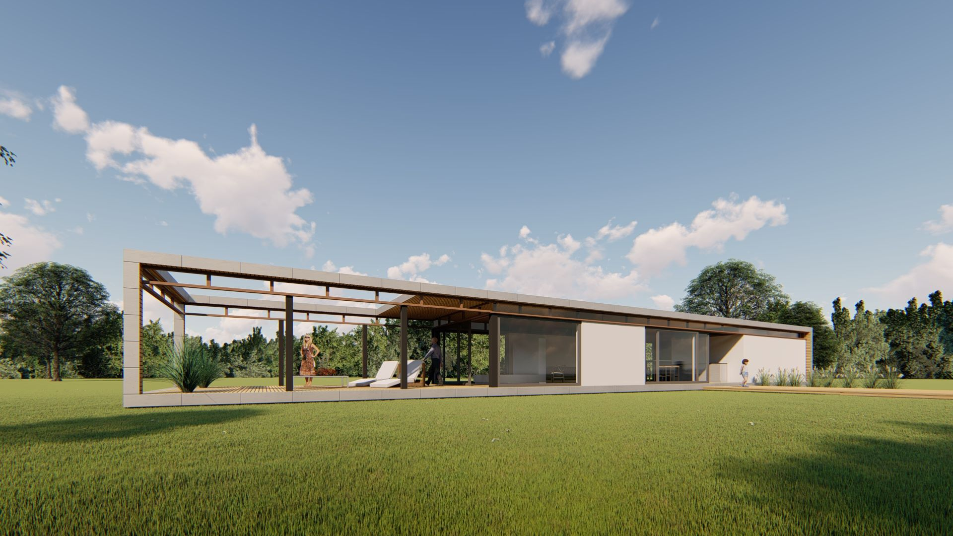 Artist impression bungalow