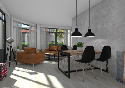 Artist impression interieur