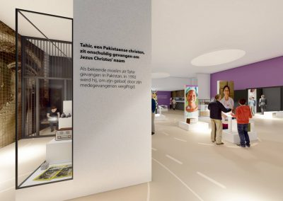 artist impression bezoekerscentrum