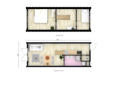 Planstudie Tiny houses Heiloo