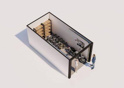 artist impression garagebox