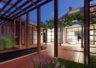 Artist impression veranda